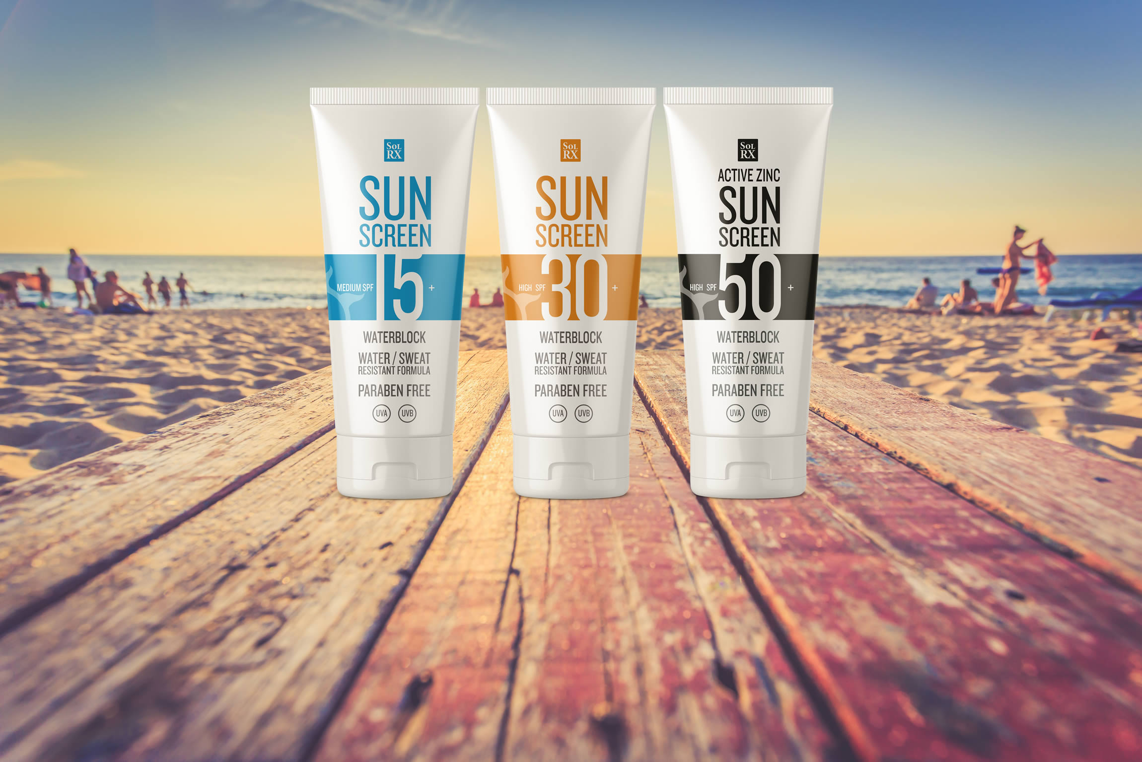 SolRX Sports sun protection range